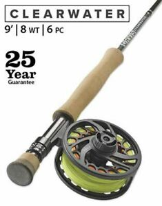 "Orvis Clearwater 8wt 9'0"" 6 pc  908-6 