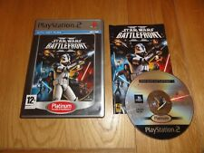 PLAYSTATION 2 / PS2 - Star Wars: Battlefront II - Platinum Edition - With Manual
