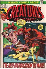 Creatures On The Loose #19 (1972) Marvel Comics Gullivar Jones of Mars Vg+