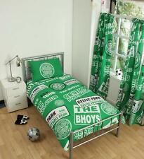 Celtic F.C. 'Patch' Single Duvet Cover Bedding Set Reversible Quilt Cover