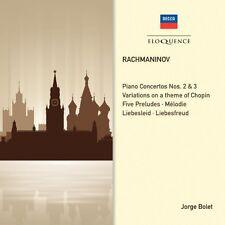 Jorge Bolet - Rachmaninov: Piano Concertos 2 & 3 [New CD] Australia - Import