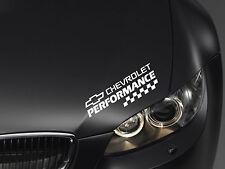 Performance Aufkleber passt Chevrolet Camaro Corvette Captiva Aveo Emblem Logo