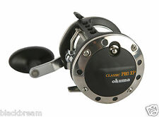 OKUMA CLASSIC PRO XP MULTIPLIER LEVEL WIND REEL XP-452La BOAT FISHING COD BASS