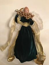 Enchanted Forest Christmas Tree Angel Figurine Tree Topper - 16.5�