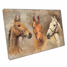 Print on Canvas we were kings Horse Art Ready to Hang canvas Wall Art 30x20 Inch