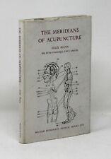 The Meridians of Acupuncture - Felix Mann HC/DJ Diagrams Atlas