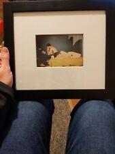 Nan Goldin-Pareja en la cama, Chicago Enmarcado Firmado - 1977 Raro