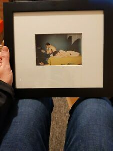 NAN GOLDIN - Couple in Bed, Chicago 1977 - SIGNED FRAMED RARE