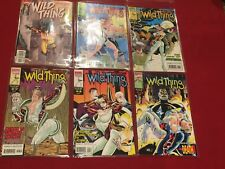 Wild Things #2,3,4,5,6, and 7 Lot of 6 Comic Books Marvel Comics