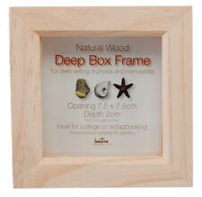 Innova Editions Natural 7.5 x 7.5 cm 7.5 x 7.5 cm Wooden Box Frame