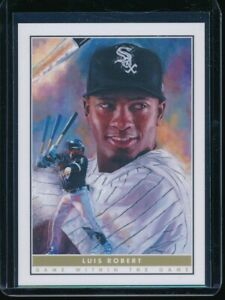 2020 Topps Game Within the Game #6 Luis Robert RC Card SP no Rookie Shield