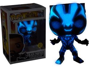 Black Panther - Black Panther Blue Glow US Exclusive Pop! Vinyl