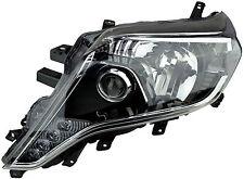 Headlight Toyota Landcruiser Prado 14-15 New Left 150s VX Kakadu Black Lamp LED