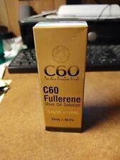 C60 Supply - C60 Fullerene Olive Oil Solution .8 mg/ml x 100 ml New