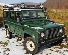 DEFENDER 110 DIESEL Land Rover ERSTBESITZER war Gaby Köster TÜV 7 2019 ahk grün