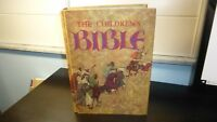 The Children's Bible Golden Press Illustrated 1965 Vintage BLANK Name Page