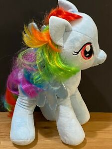 "My Little Pony Build A Bear Rainbow Dash 18"" Plush Pegasus Horse Toy"