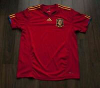 *** Spain National Team Jersey Shirt Adidas Size L *g0403a4