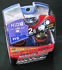 MTEC H8 12v 35w Superwhite HID Class Upgrade Bulbs Japanese performance New
