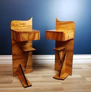 FREE DELIVERY - Covart-19 / Art Deco / Modernist Bedside Tables Excellent Cond.