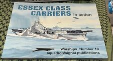 ESSEX CLASS CARRIERS IN ACTION SQUADRON/SIGIN ACTION WARSHIP #10 FREE USA SHIP