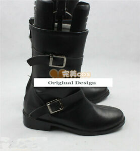 Hot Sale No. 6 Nezumi Boot Party Shoes Cosplay Boots Custom-made:45