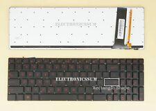 For ASUS ROG G550 G550JK GL550 GL550JK G56 G56JK G56JR US Keyboard, Red backlit