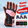 Winter 10h Battery Electric Heated Hand Warm Gloves Waterproof Motorcycle Skiing