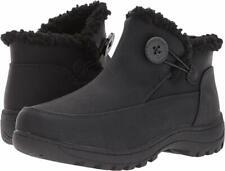Tundra Boots Women's Nanci Size 7M Black Fashion NEW Waterproof Zipper Shoes