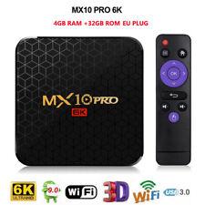 MX10 Pro 6K ULTRA HD TV Box 4GB+32GB Android 9.0 AllWinner H6 2.4G WiFi USB3.0