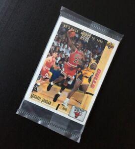 Set Michael Jordan He's back Upper Deck Neuf 1995 New Sealed