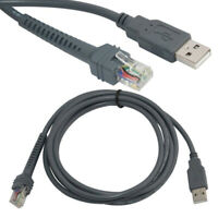 USB Cable 6 Feet For Symbol Barcode Scanner LS2208 LS3578 LS9208 DS9208  LS3008