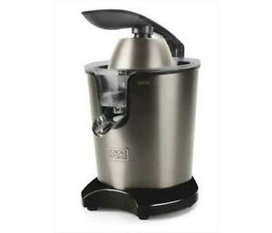 Spremiagrumi elettrico 350 watt contenitore 400 ml inox Black+Decker BXCJ350E