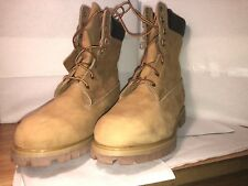 Timberland Men's 8 Prems Brown Tan New Men's Boots High Cut Winter Size 12