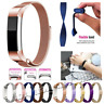 For Fitbit Alta / Alta HR Milanese Stainless Steel Watch Band Strap Magnetic
