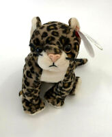 Ty Beanie Baby Sneaky the leopard ,cat ,mwmt ,hang tag 6th gen