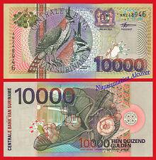 SURINAME SURINAME 10000 Gulden 2000 Série 153 SC / UNC