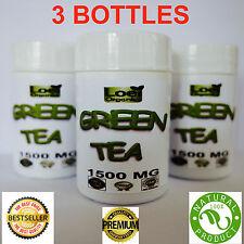 3 X 60 Green Tea HIGH STRENGTH Fat Burner Weight Loss Supplement DIET PILLS