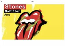 Rolling Stones tickets BLOCK BY THE STAGE Manchester Old Trafford June 5th 2018