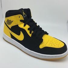 Nike Air Jordan 1 New Love Black Yellow Old Love Bred Size 9.5 *RIGHT SHOE ONLY