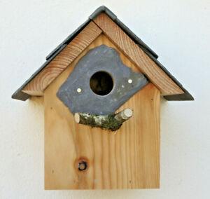 Bird House Nesting box Sparrow Welsh Gift Christmas