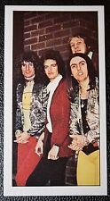 SLADE    British Rock Group   Original 1970's Colour Photo Card