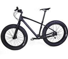 """26er Carbon Full bike Snow Fat Frame Fork Wheel 197 BSA Matt Tire 4.0"""" Sram GX"""
