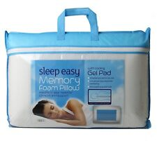 Cool Gel Memory Foam Pillow Anti Bacterial Orthopaedic Head Neck Back Support
