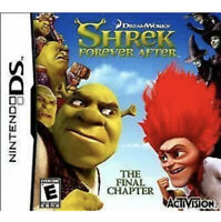 Shrek Forever After: The Final Chapter Nintendo DS/3DS Kids Game