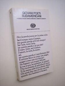GIOVANI POETI SUDAMERICANI,  Collezione Poesia Einaudi, 1972 prima edizione