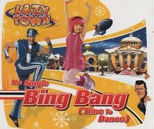 LAZYTOWN  Bing Bang (time to dance) 5 TRACK CD NEW - NOT SEALED