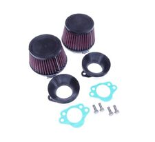 Datsun 240Z 1970-72 K&N Air Filter Set Hitachi SU Round Filters Pair NEW 650-366