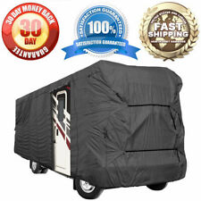 New Universal RV Cover Class A B C Motorhome Trailer Camper Fits Up To 25' Feet