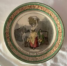 Vintage Ceramic Cries of London Cabinet Collector Plate Adams England 3